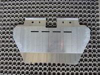 Защита радиатора (алюминий) 4 мм для Nissan Patrol (2014 -) ТСС ZKTCC00033