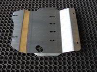 Защита картера двигателя (алюминий) 4 мм для Nissan Patrol (2014 -) ТСС ZKTCC00039
