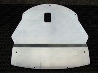 Защита картера двигателя 4 мм для Nissan Qashqai (2014 -) ТСС ZKTCC00067