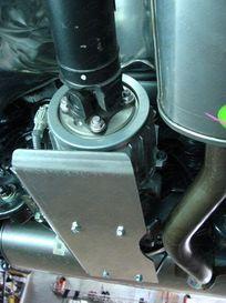 Защита дифференциала 4 мм для Nissan Qashqai (2014 -) ТСС ZKTCC00068